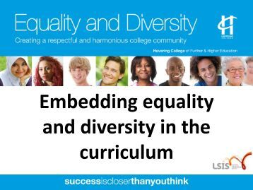 equality and diversity checklist for learning Diversity & inclusive teaching (archived) this teaching guide has been retired visit our newly revised guides on this topic, increasing inclusivity in the classroom teaching beyond the gender binary in the university classroom overview inclusive teaching strategies racial, ethnic and cultural diversity gender issues sexual orientation .