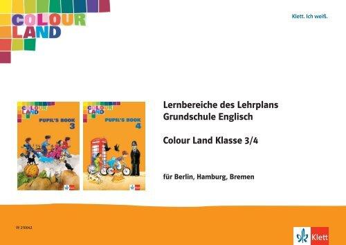 Colour Land 34 Lernbereiche Des Lehrplans Klett Pressebox