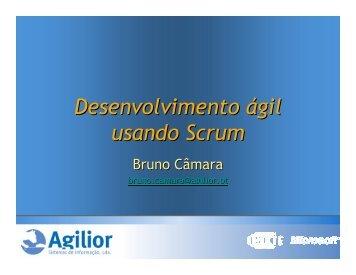 Desenvolvimento ágil usando Scrum