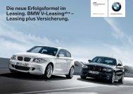 Leasing plus Versicherung. - BMW Niederlassung München