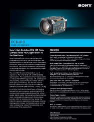 FCB-H10 - Sony