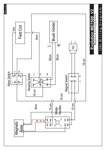 ly wiring diagrams ver1 01 a1 indd - evolution power tools ltd
