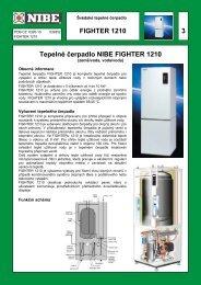 FIGHTER 1210 3 Tepelné čerpadlo NIBE FIGHTER ... - nibe-technik.cz