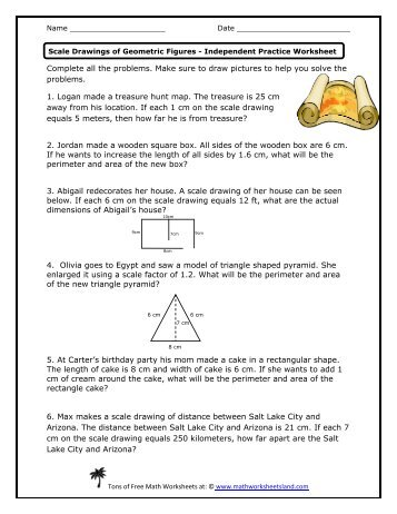 math worksheet : dilations and scale factors independent practice worksheet  math  : Independent Practice Math Worksheet