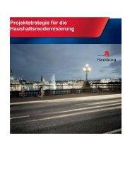 Projektstrategie für die Haushaltsmodernisierung in Hamburg