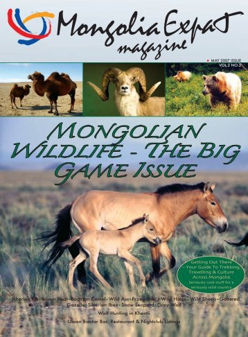 Download here (PDF) - Mongolia Expat