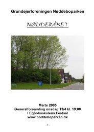 April 2005 - noddeboparken.dk