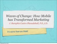 Waves of Change: How Mobile has Transformed Marketing J ...