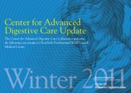 Center for Advanced Digestive Care Update - New York ...