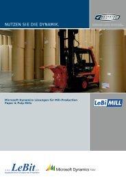 LeBiMILL - Paper & Pulp - it-auswahl.de