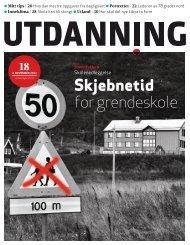 Utdanning nummer 18 2011 - Utdanningsnytt.no