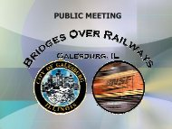 PUBLIC MEETING - City of Galesburg