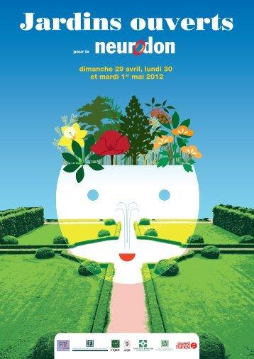 L'affiche et la liste des jardins ouverts - Fédération pour la ...