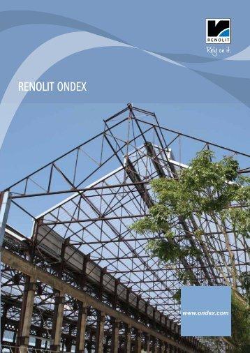 RENOLIT ONDEX - Catalogue - ondex