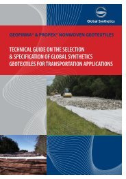 Geotextiles Guide - Global Synthetics