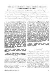 REDUÇÃO DE CONSUMO DE ENERGIA ELÉTRICA ... - Abesco