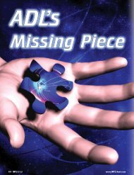 ADL's Missing Piece - Training Transformation