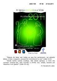 ANO 109 Nº 09 27.02.2011 - Comunidade Evangélica Luterana ...