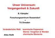 Folien vom Vortrag (pdf-Datei, 5,4 MB) - Physik am Samstag