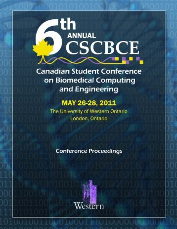Proceedings of the 6th Canadian Student Conference on ...