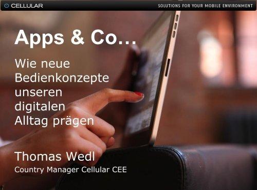 Thomas Wedl, Cellular