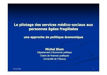 Pilotage des services méd.-soc.Blum. M ... - SGG-SSG