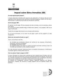 Impost sobre Béns Immobles (IBI) - Ajuntament de Roses