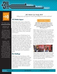 PCIMediaCase Study.indd - 3BL Media