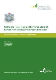 PDF 2072 KB - The Institute For Fiscal Studies
