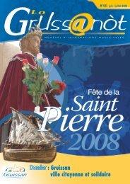 Lo Grussanòt Juin - Juillet PDF - Gruissan