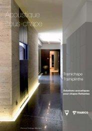 Catalogue Acoustique sous-chape - dBstop