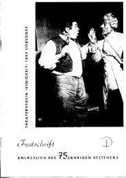Festschrift 75 Jahre Theaterverein -