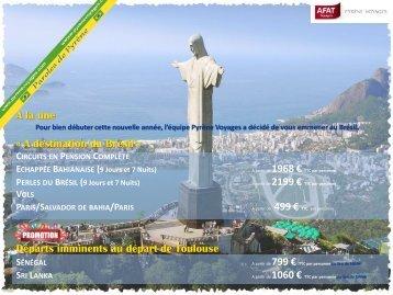 A destination du Brésil - Afat