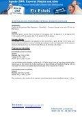 Verano Singles con hijos 2011 - Eixestels - Page 3