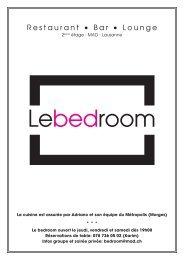 Restaurant • Bar • Lounge - Le Mad
