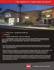 TOWN AND COUNTRY SHOPS - Red Development LLC