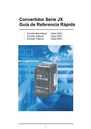 Convertidor Serie JX Guía de Referencia Rápida - Carol ...