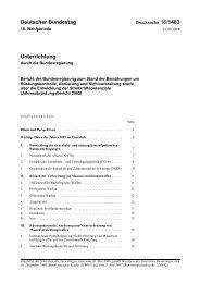 16/1483 - Deutscher Bundestag