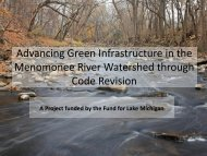 Advancing Green Infrastructure through Code Revision - American ...