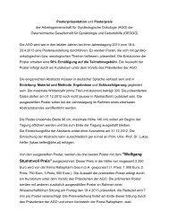 AGO - Österreichische Gesellschaft für Gynäkologie und Geburtshilfe