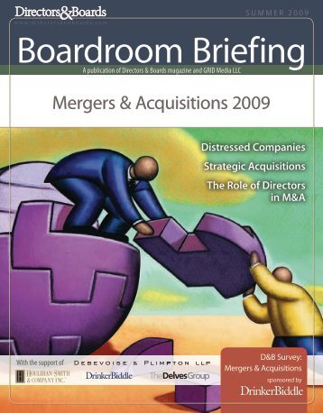 Mergers & Acquisitions 2009 - Directors & Boards