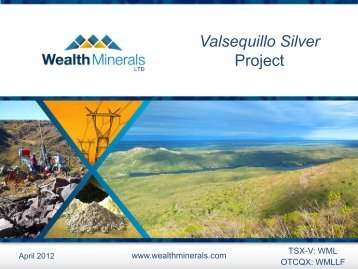 Presentations - Wealth Minerals Ltd.