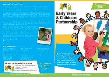 Early Years & Childcare Partnership - States of Jersey