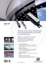 Sensore di sicurezza miniaturizzato per porte telescopiche ... - Hotron
