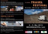 können Sie den Flyer zum Festival herunterladen. - Swiss Travel Club