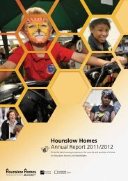 Hounslow Homes Annual Report 2011/2012