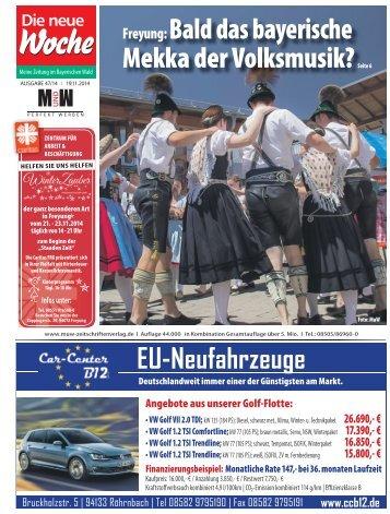 Die neue Woche Ausgabe 1447