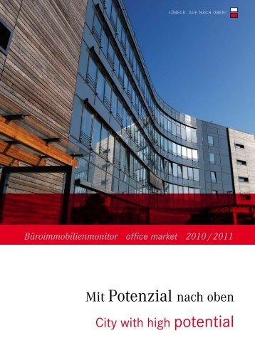 Mit Potenzial nach oben - Wirtschaftsförderung Lübeck