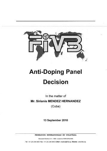 Sirianis MENDEZ HERNANDEZ (CUB) - FIVB