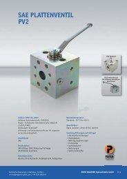 PV 2 Plattenventil - Ernst Wagener Hydraulikteile GmbH